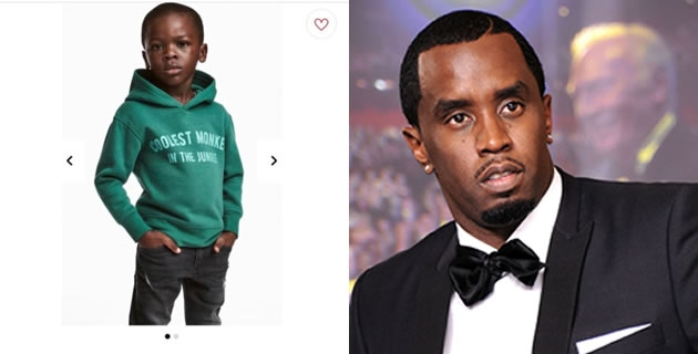 <h3>P. DIDDY IS REPORTEDLY SET TO SIGN LITTLE BOY IN THE H&M VIRAL AD TO HIS BRAND</h3><br />Billionaire businessman and rapper, P Diddy has been rumoured to hatch plans; if not already on the pipe line to sign the young black boy whose campaign picture for H&M went viral after the child was seen