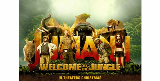<h3>JUMANJI MAINTAINS IT'S SPOT AS TOP BOX OFFICE FOR TWO WEEKS NOW</h3><br />On to its second week, Jumanji: Welcome To The Jungle is still topping the box office charts. It was an extraordinary week for Sony's Jumanji as they earn a total of $27 million in just three days, Frid