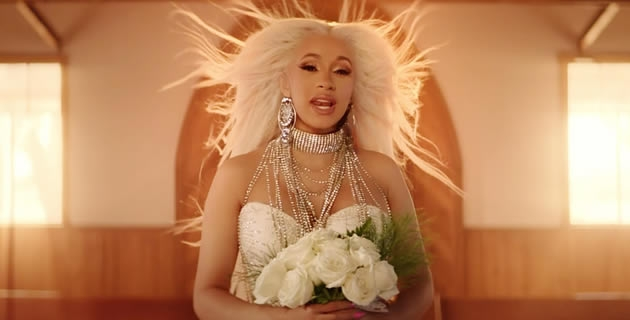 "<h3>CARDI B CELEBRATES A WEDDING AND A FUNERAL IN 'BE CAREFUL' VIDEO</h3><br />Cardi B presents her video for her Invasion of Privacy single ""Be Careful.""Jora Frantzis shot the femcee in the desert as she warns not to be messed with. Cardi B is seen in the opening scene dragging"